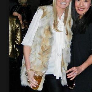 Michael Kors Coyote Fur Vest